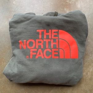 Olive Green North Face Hoodie